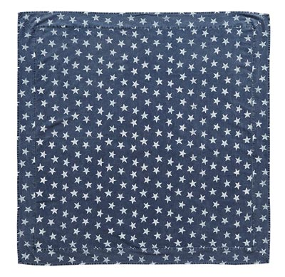 Multi Star Navy Tablecloth - 60 x 102