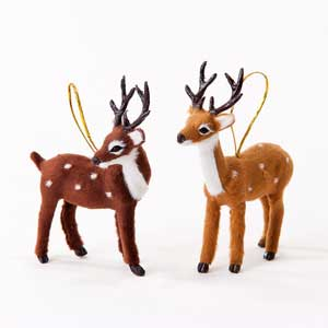 Soft Deer Ornament