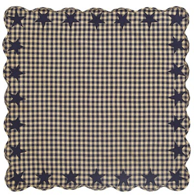 Navy Star Tabletopper/Tablecloth - 40 x 40 inch