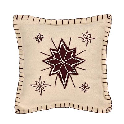 North Star Pillow (10x10)