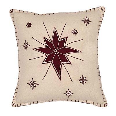 North Star Pillow (16x16)