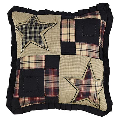Revere Quilted Throw Pillow Cover