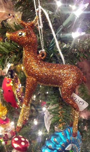 Forest Deer Ornament