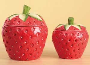 Strawberry Canister, Large