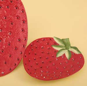 Strawberry Plate, Small