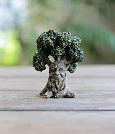 Fairy Garden Tree with Smile