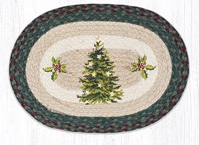 Christmas Joy Tree Braided Placemat