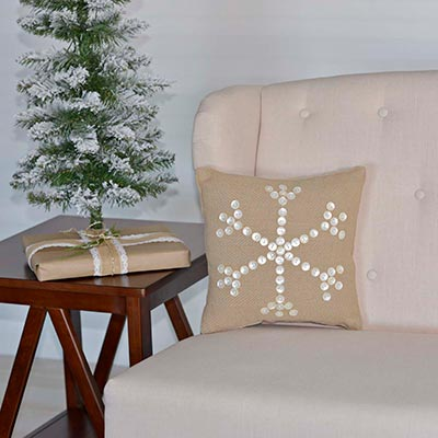 Pearlescent Pillow (12x12)