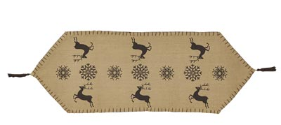 Prancer Table Runner - 36 inch