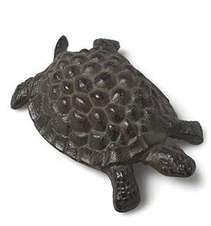 Cast Iron Turtle Figure