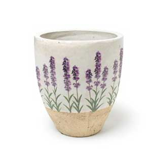 Lavender Planter, Medium Tapered