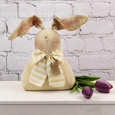 Dill Primitive Bunny Doll