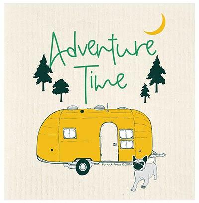 Adventure Time Airstream Swedish Dishcloth
