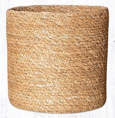 SGB-01 Natural Sedge Grass 7 inch Basket
