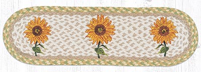 ST-OP-529 Sunflower Oval Stair Tread