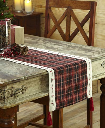 Season's Greetings Tablerunner - 36 inch