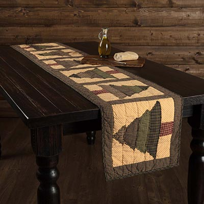Sequoia Quilted 72 inch Table Runner