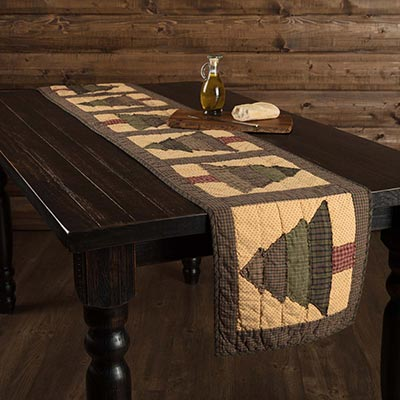 Sequoia Quilted 90 inch Table Runner