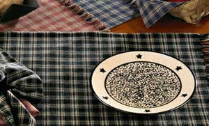 Sturbridge Black Plaid Kitchen Towel