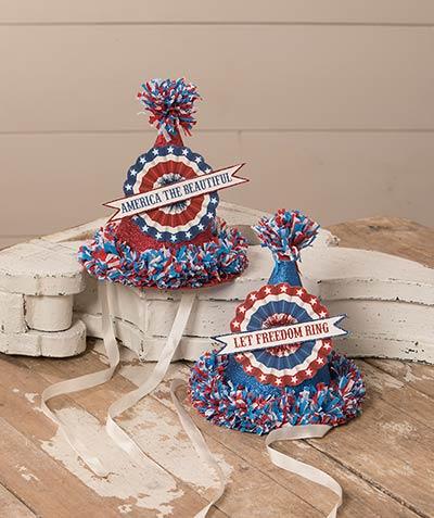 Americana Party Hats (Set of 2)