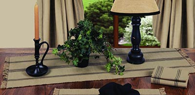 New Port Stripe 36 inch Table Runner