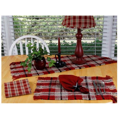 Providence Plaid Runner - 36 inch