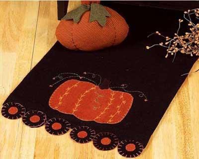 Large Pumpkin Table Runner