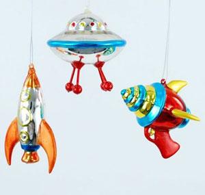 Mini Space Ornament