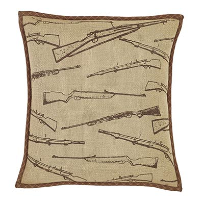 Tallmadge Rifle Decorative Pillow