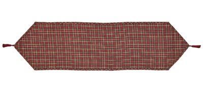 Tartan Holiday Tablerunner - 48 inch