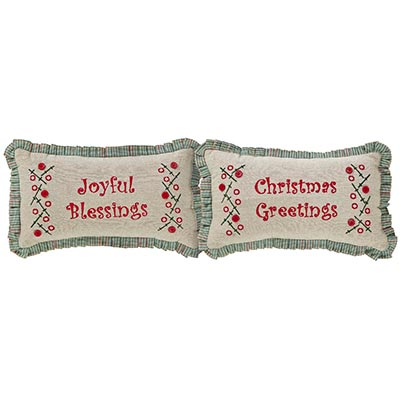 Tidings Pillow (Set of 2)