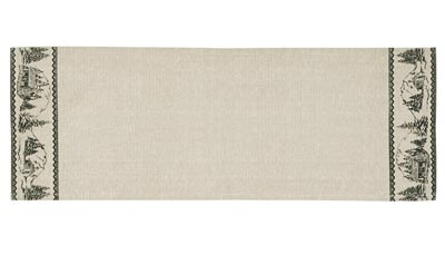 Timberland Christmas Table Runner - 36 inch