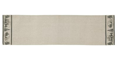 Timberland Christmas Table Runner - 48 inch