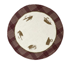 Truman Tablemat - Fly (9 inch)