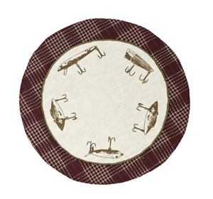 Truman Tablemat - Lure (9 inch)