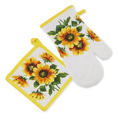 Sunflowers Oven Mitt or Pot Holder