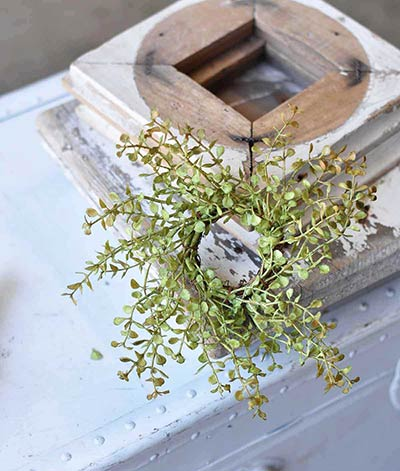 Baby's Grass 2 inch Candle Ring