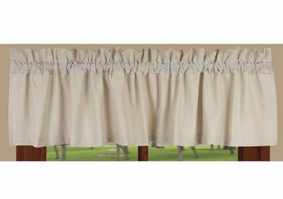 Osenburg Cream Valance