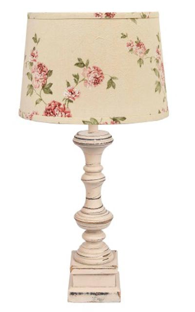 Covington Lamp Base - Buttermilk