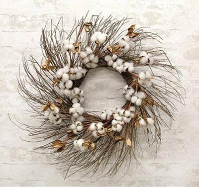 Cotton & Twig 24 inch Wreath