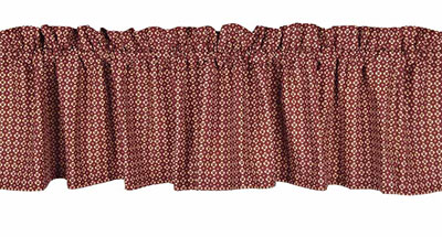Abbington Barn Red Valance