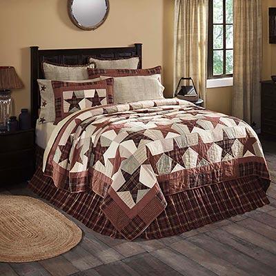 Abilene Star Quilt (Multiple size options)