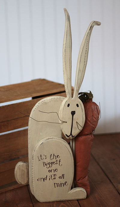 All Mine Wood Rabbit