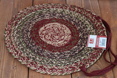 Apple Cider Jute Chair Pad