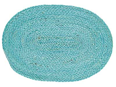 Teal Braided Placemat