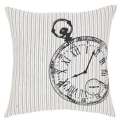 Ashmont Pocketwatch Decorative Pillow