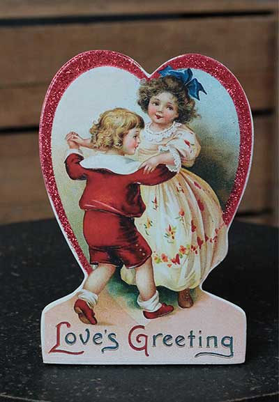 Love's Greeting Valentine Dummy Board