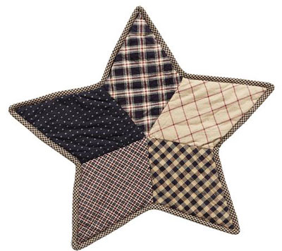 Bingham Star Tablemat - Quilted (13 inch)