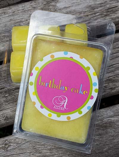 Birthday Cake Wax Tarts - Judy Havelka