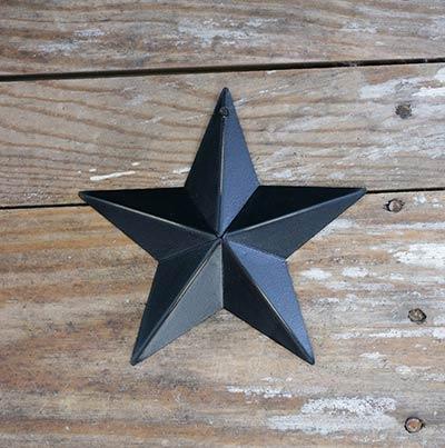 Black Barn Star (Multiple Size Options)
